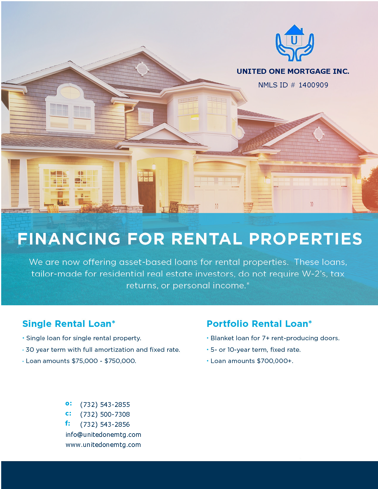 Financing for Rental Properties